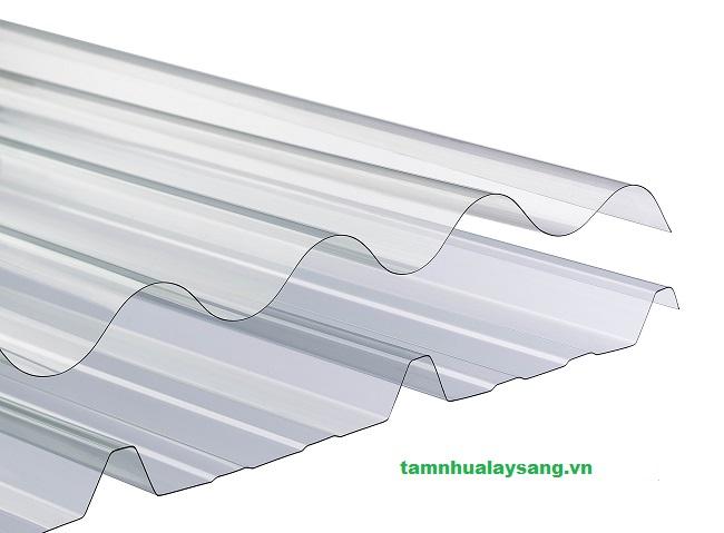 Tấm lợp nhựa lấy sáng polycarbonate rỗng ruột