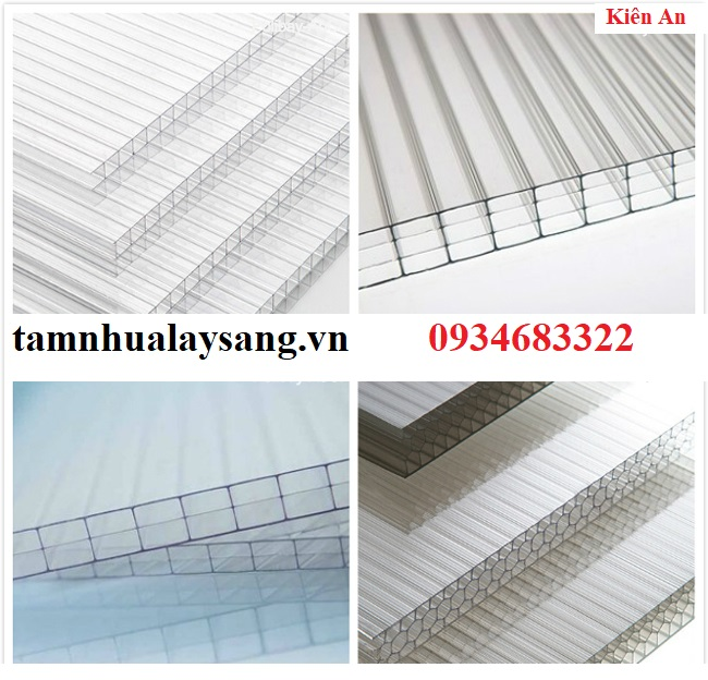 polycarbonate rỗng ruột