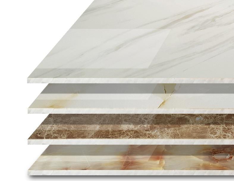 Lựa chọn tấm ốp PVC vân đá phù hợp với từng không gian