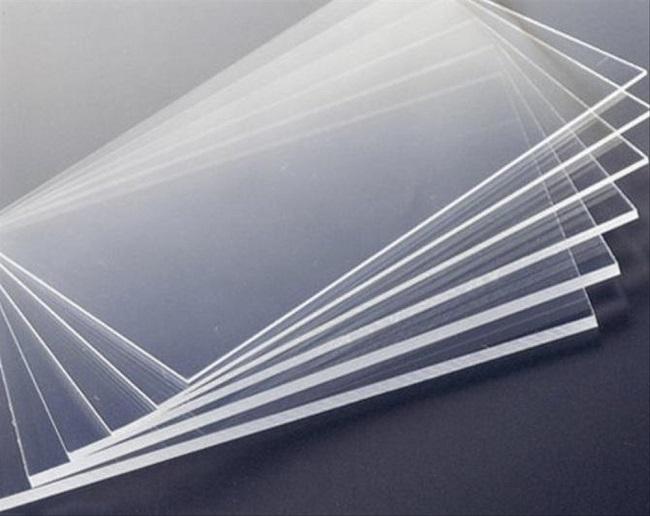 Tấm nhựa PVC cứng trong suốt